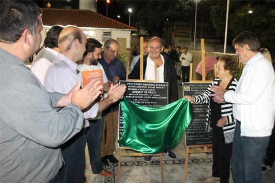 Homenagens marcam reabertura do Centro Esportivo Álvaro Maneira, antigo ATC