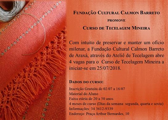 Fundação Cultural promove curso de tecelagem 3