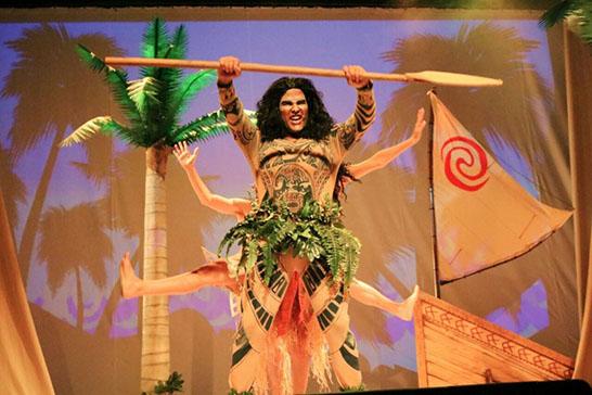 """Moana - O Musical"" no Teatro Sesi 3"