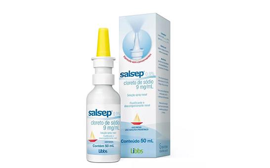 Anvisa suspende venda e uso de lotes de descongestionante nasal Salsep