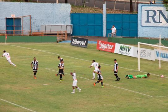 Araxá perde invencibilidade na Segundona do Mineiro