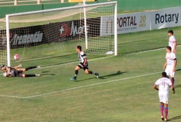 Araxá goleia Ponte Nova e segue invicto na Segundona
