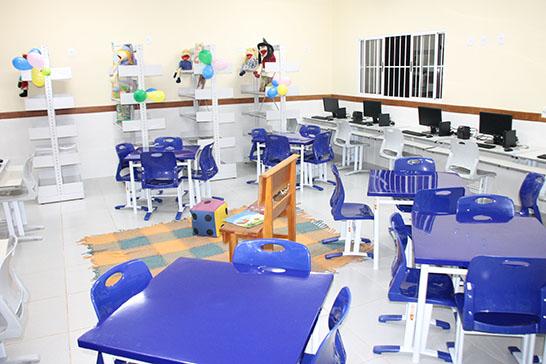 Inaugurada Escola Municipal Agar de Afonseca e Silva 1