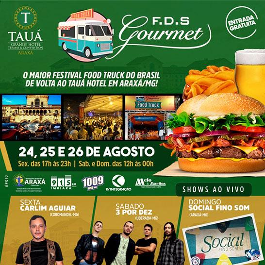 FDS Gourmet atrai visitantes e negócios para a cidade