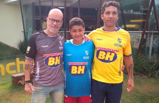 Aluno da Fundação Rio Branco é aprovado em teste de futsal do Minas Tênis Clube