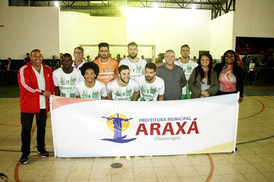Seleção de Futsal de Araxá participa da Copa Futsal Band Triângulo