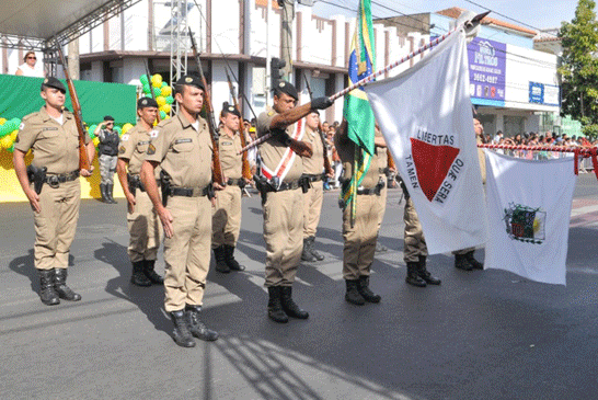 Desfile de 7 de setembro marca as comemorações da Semana da Pátria