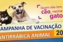 Campanha de vacinação antirrábica chega ao perímetro urbano