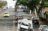 Carreata marca o início da Semana Nacional de Trânsito