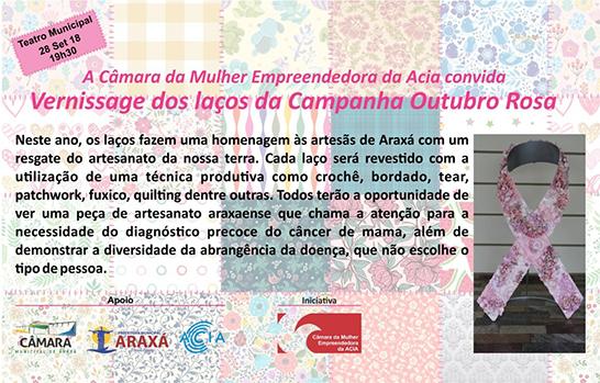 Câmara da Mulher lançará Campanha do Outubro Rosa