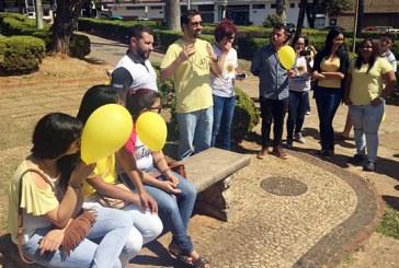 Vereador Raphael Rios destaca atividades do Setembro Amarelo em Araxá
