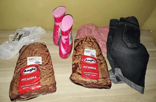 Jovem é preso por furto em supermercado
