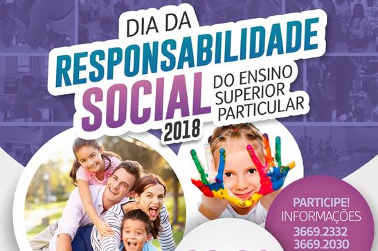 Uniaraxá promove 14ª edição do Dia da Responsabilidade Social do Ensino Superior Particular
