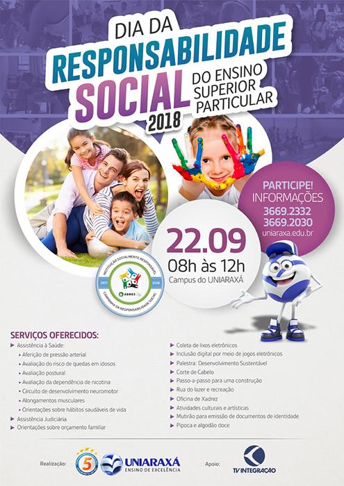 Uniaraxá promove 14ª edição do Dia da Responsabilidade Social do Ensino Superior Particular 3