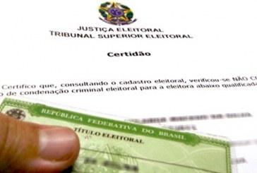 Certidão de quitação eleitoral poderá ser emitida pela internet a partir desta segunda