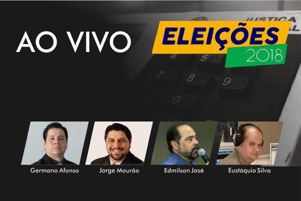 Apuração ao vivo - Eleições 2018