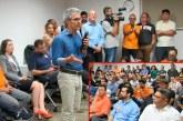 Vereadores participam de encontro com o candidato a governador Romeu Zema em BH