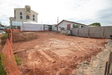 Praça da Igreja de Nossa Senhora da Conceição Aparecida é reformada