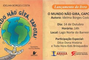 Escritora araxaense lança livro infantil com temática de evolução tecnológica