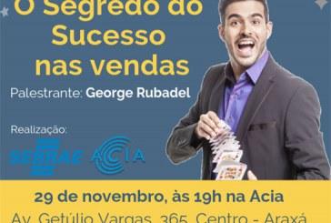 """Palestra """"O Segredo do Sucesso nas Vendas""""com George Rubadel"""