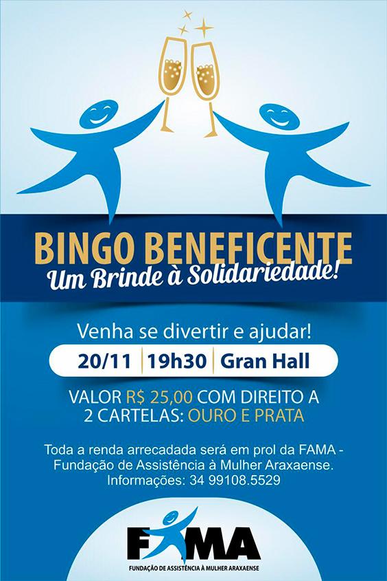 Fama inicia venda de convites para bingo beneficente 3