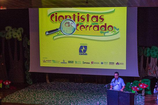 Alunos participam das atividades de encerramento do projeto Cientistas do Cerrado
