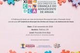 Convite: Conferência Municipal dos Direitos da Criança e do Adolescente