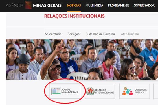 Casa Civil lança nova versão do jornal Minas Gerais na internet