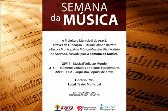 Araxá comemora Dia do Músico com viagem pela história 3