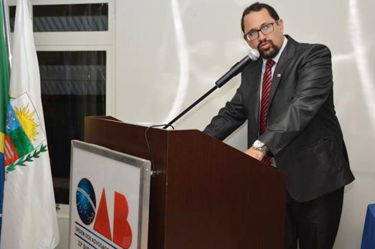 Tiago Pereira é reeleito presidente da OAB Araxá