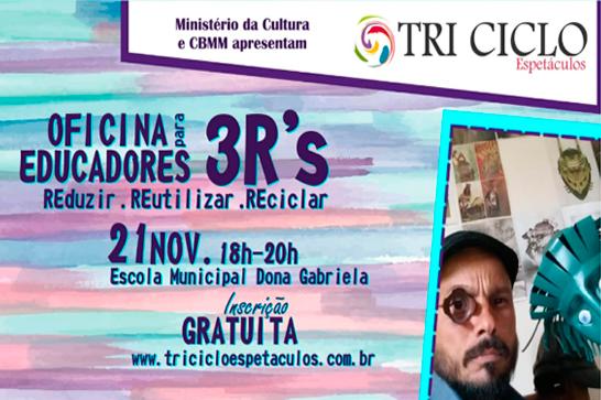 Tri Ciclo Espetáculos apresenta teatro e oficina em Araxá 1