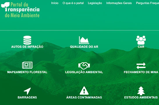 Sociedade ganha portal com informações gerais sobre meio ambiente