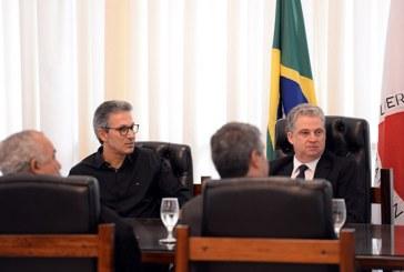 Presidente da ALMG recebe governador eleito Romeu Zema