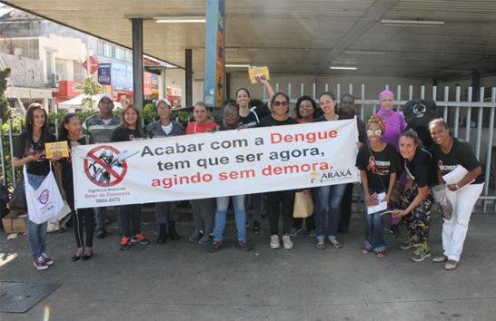 Dia D da Saúde: Prefeitura realiza blitz educativa contra o mosquito Aedes aegypti e DST/AIDS
