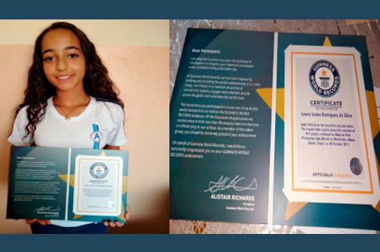Estudante araxaense amante da viola caipira é destaque no Guinness World Records 2018