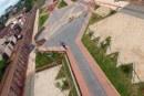 Obras da avenida do Parque do Cristo e da praça da Vila Silvéria estão em fase final