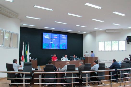 Destaques da reunião ordinária da Câmara Municipal de Araxá - 11/12/2018