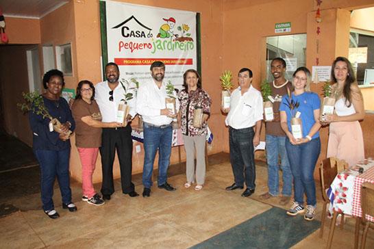 Projeto desenvolvido pela Prefeitura recebe comitiva de Carmo do Paranaíba