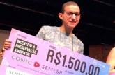 Acadêmico do Uniaraxá recebe Prêmio de Incentivo à Preservação Ambiental