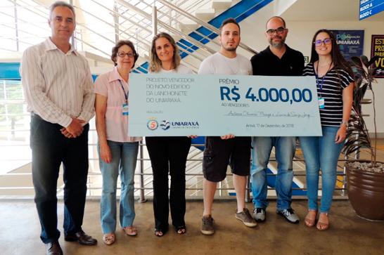 Concurso escolhe projeto para a nova lanchonete do Uniaraxá 1