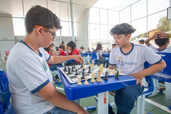 Circuito de Xadrez reúne alunos de escolas municipais destaques em 2018