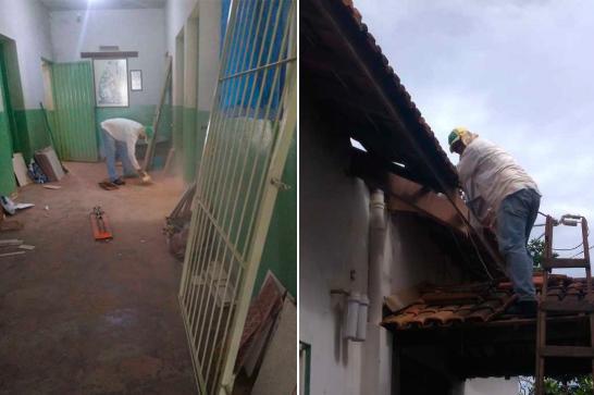 Escola rural de Itaipu recebe melhorias