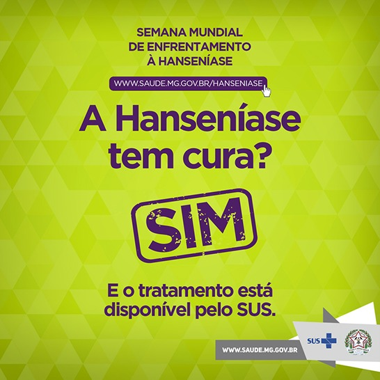 Semana Mundial de enfrentamento à Hanseníase reforça importância do diagnóstico precoce