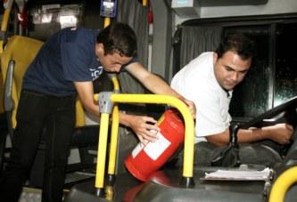 Prefeitura de Araxá vistoria ônibus de transporte coletivo