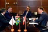 Governador Romeu Zema se reúne com embaixador do Canadá no Brasil