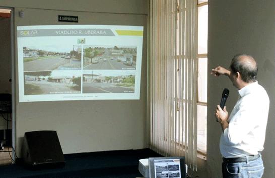 Prefeitura promove audiência pública e apresenta projeto do viaduto