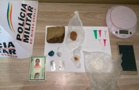 Operação da PM prende três pessoas e aprende drogas na região