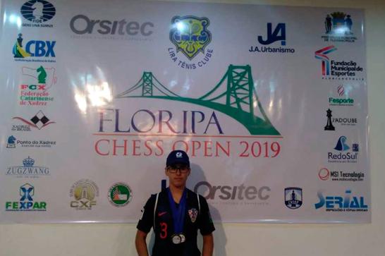 Vítor Fróis participa do Floripa Chess Open