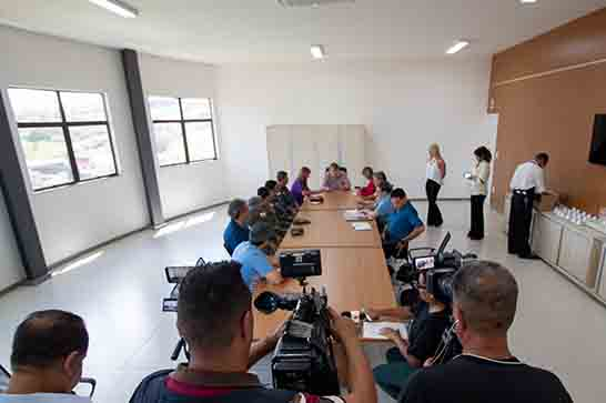 Prefeitura apresenta relatório de visitas às barragens de Araxá