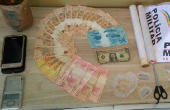 PM prende suspeitos de tráfico no bairro Pedra Azul